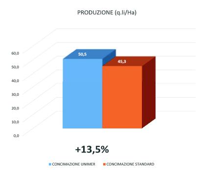 Grafico produzione