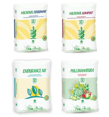 Pollinamatura, Endurance, Microsol Ferromax e Kompost