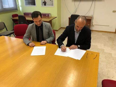 Firma dell'accordo tra Image Line e Università della Tuscia