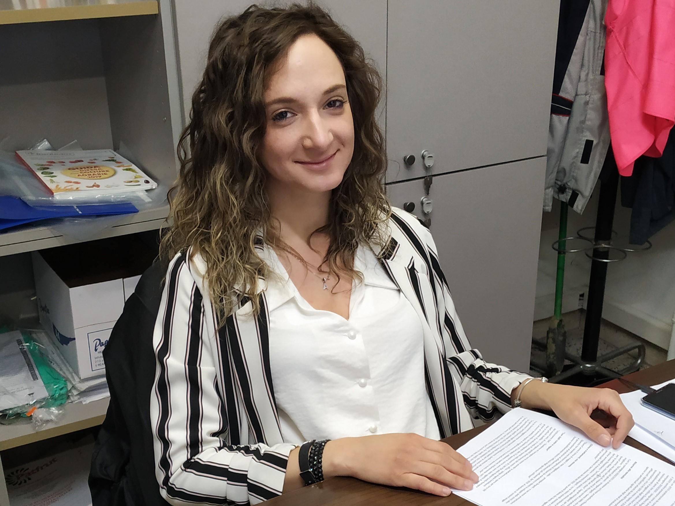 Angela Fontebuoni- Ufficio qualità di Patfrut