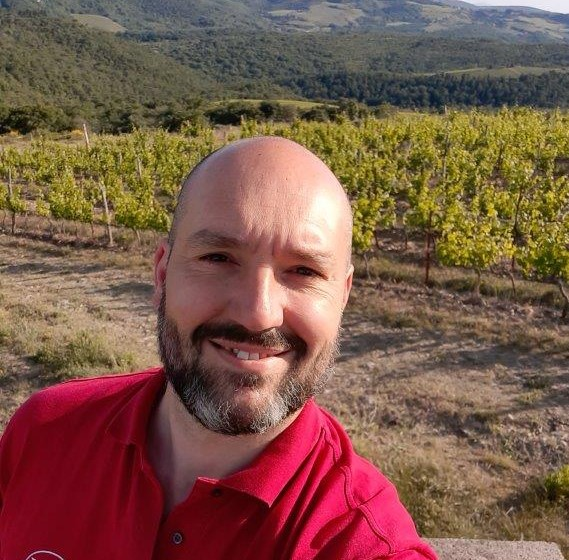 Marco Viciani, tecnico di riferimento per le aziende toscane del Gruppo Italiano Vini