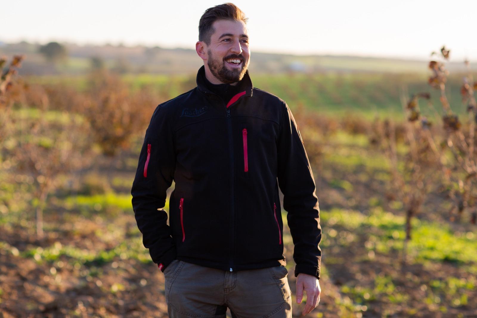 Maurizio Furlan, Head of Hazelnut Farms di Loacker ha scelto di usare QdC® - Quaderno di Campagna®