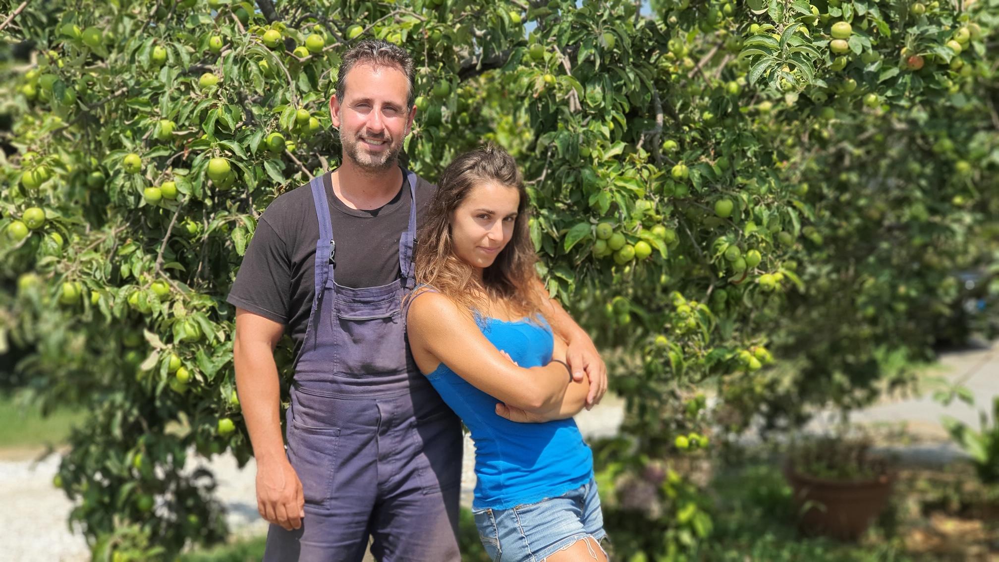 Lia e Luca Mannucci, titolari dell'azienda agricola biologica Lune Verdi, scelgono QdC®