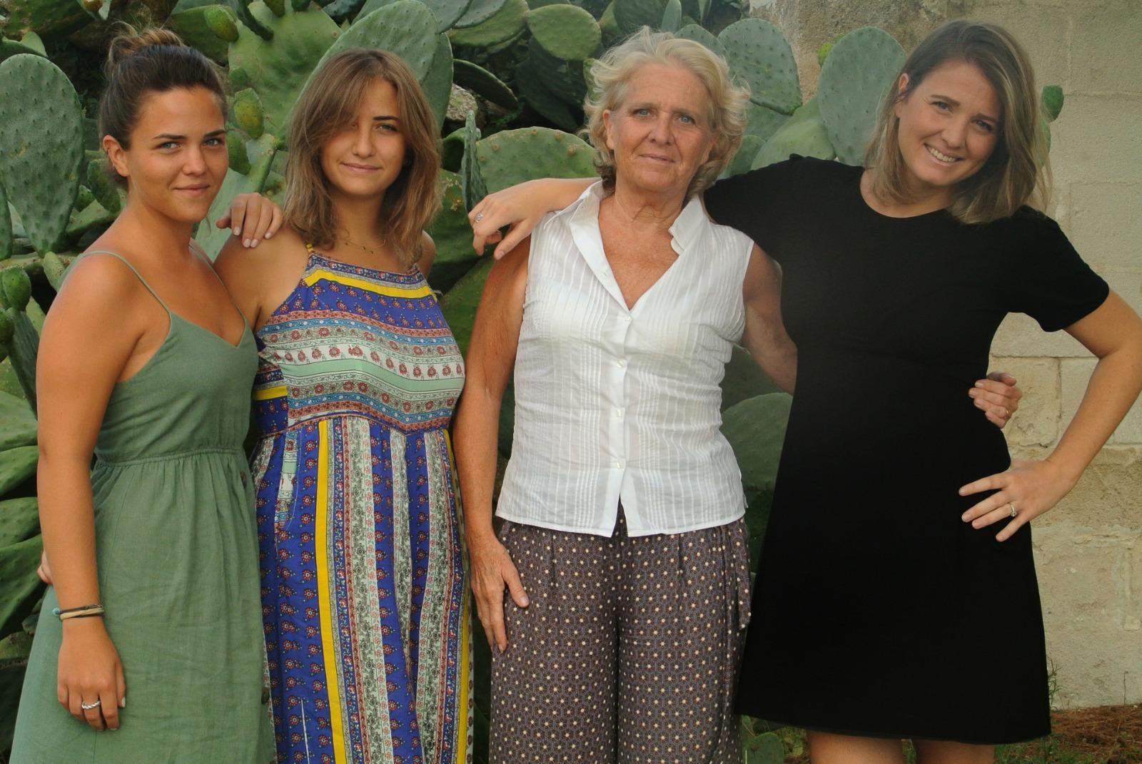 Fanny, Enrica, Annamaria e Francesca, l'anima di Vetrére