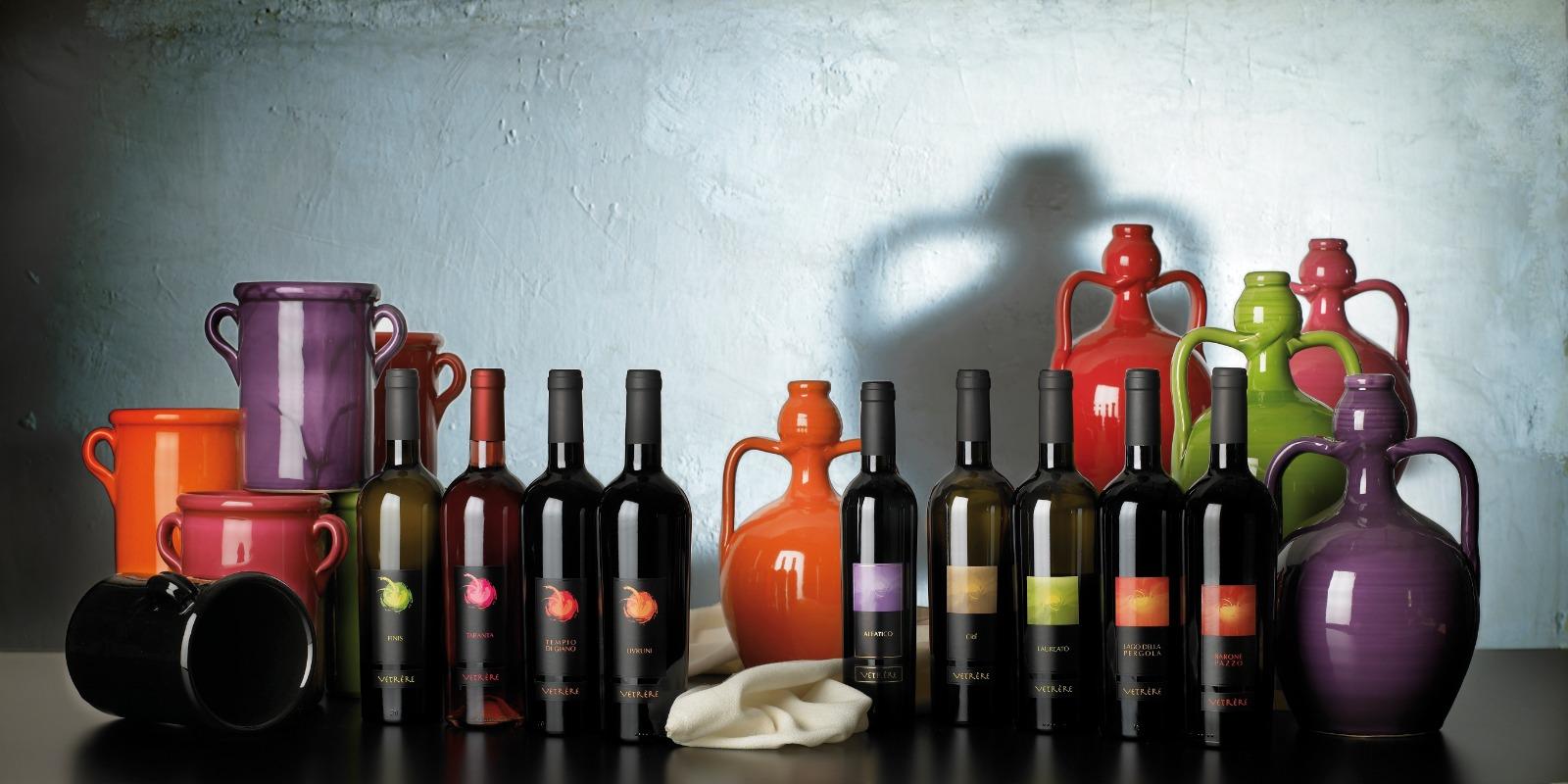 Vino e olio sono i prodotti di punta di Vetrére