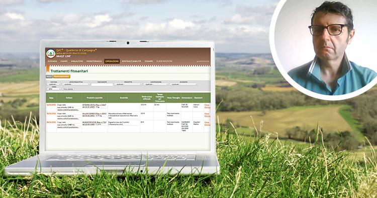 con QdC® compilo il quaderno di campagna delle aziende che seguo in dieci minuti