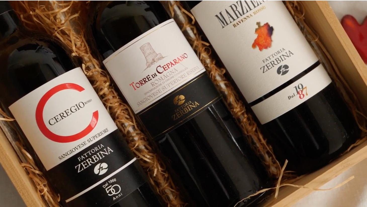 I vini di Fattoria Zerbina, premiati e apprezzati in tutta Italia, sono prodotti da uve coltivate con QdC®