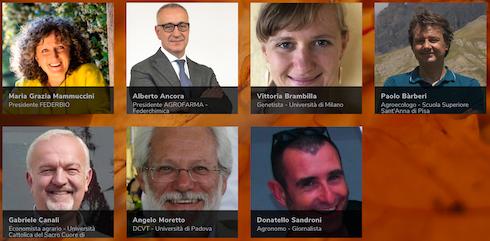 I relatori del Forum di medicina vegetale 2020