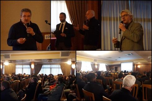 Nella foto: Nigro, Chieppa, Filì e Santomauro