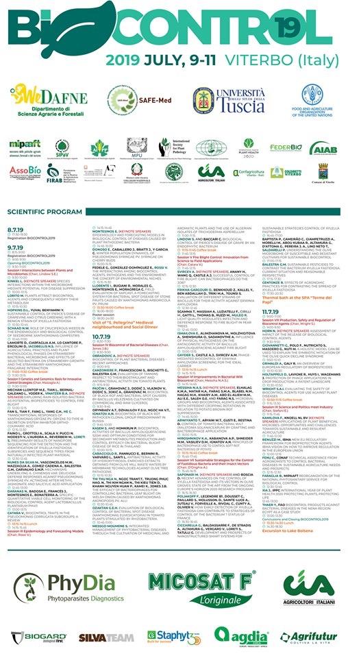Locandina Biocontrol 2019