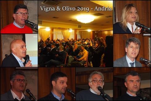 Relatori Vigna e Olivo 2019 - Andria