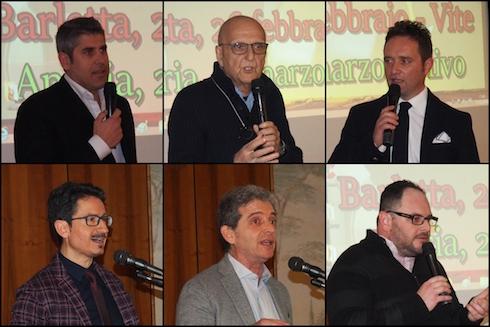 Alcuni relatori Vigna e Olivo 2019