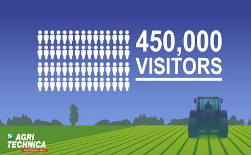 450000 visitatori fiera macchine agricole agritechnica