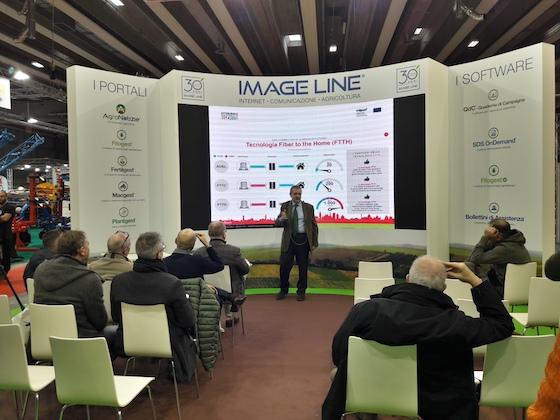 Guido Bonati del Crea espone le iniziative per portare la banda ultra larga nelle zone rurali