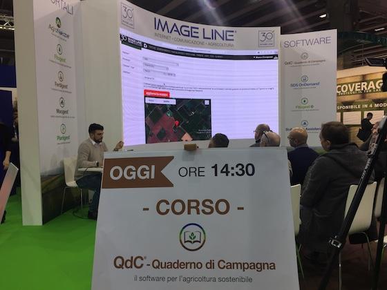 lo staff di QdC - Quaderno di Campagna durante un corso di formazione sull'utilizzo del software