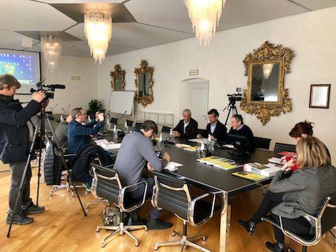 Conferenza stampa rinnovo accordo Apot e Fem