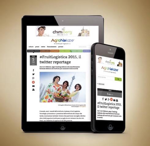 AgroNotizie versione per cellulari e tablet