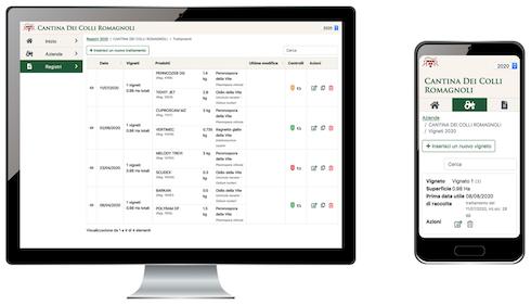 La piattaforma Sos Qualitec su desktop e smartphone