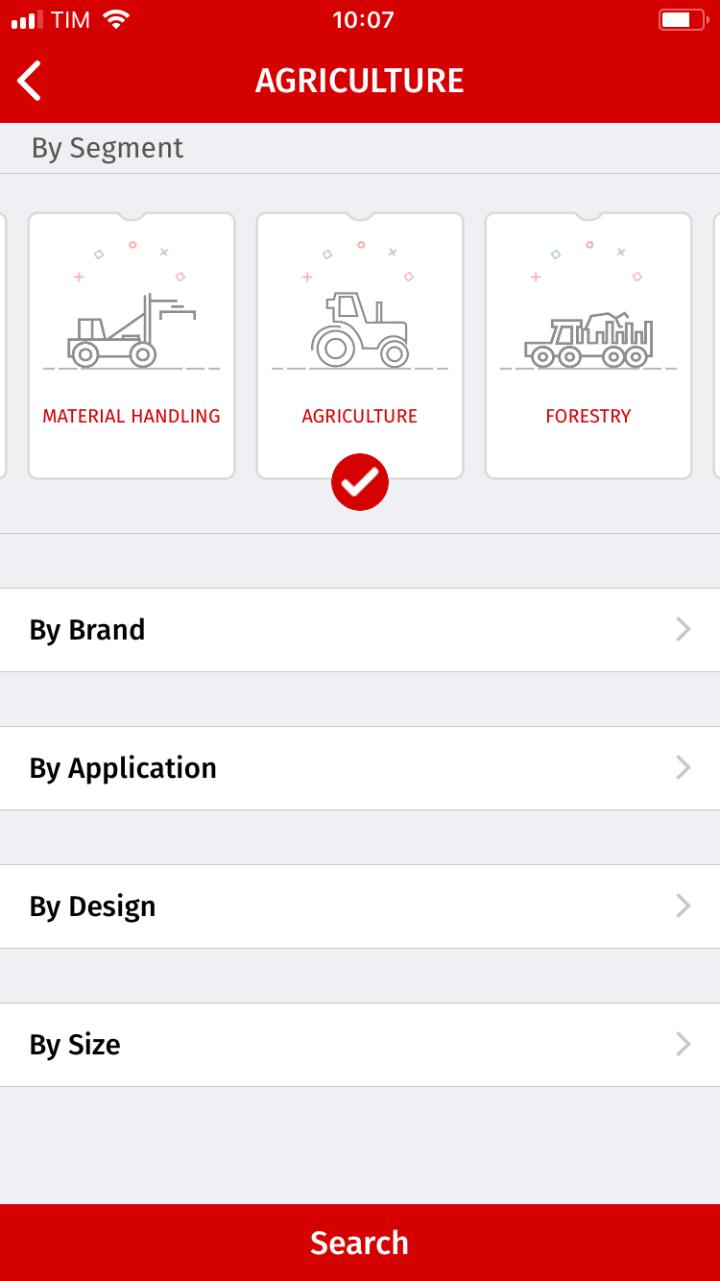 Anche ATG ha una sua app dedicata alla pressione dei pneumatici