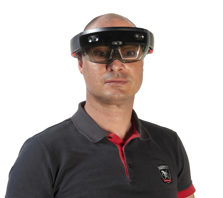 Manutenzione perfetta con gli smart glasses Antonio Carraro HoloMaintenance