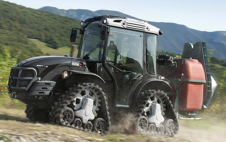 Antonio Carraro Mach 4 R, trattore ideale per lavorare su terreni in pendenza