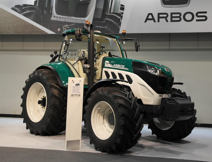Prototipo Arbos 7260 agritechnica 2017