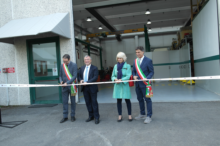 Taglio del nastro_Inaugurazione Engineering Center ARBOS