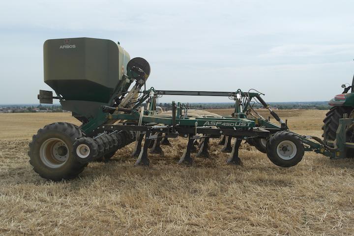 nuova ASF 450 innovativa per semina diretta o under surface seeding