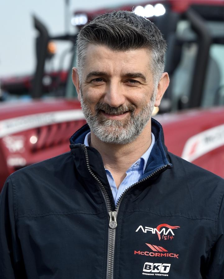 Antonio Salvaterra, direttore marketing di Argo Tractors