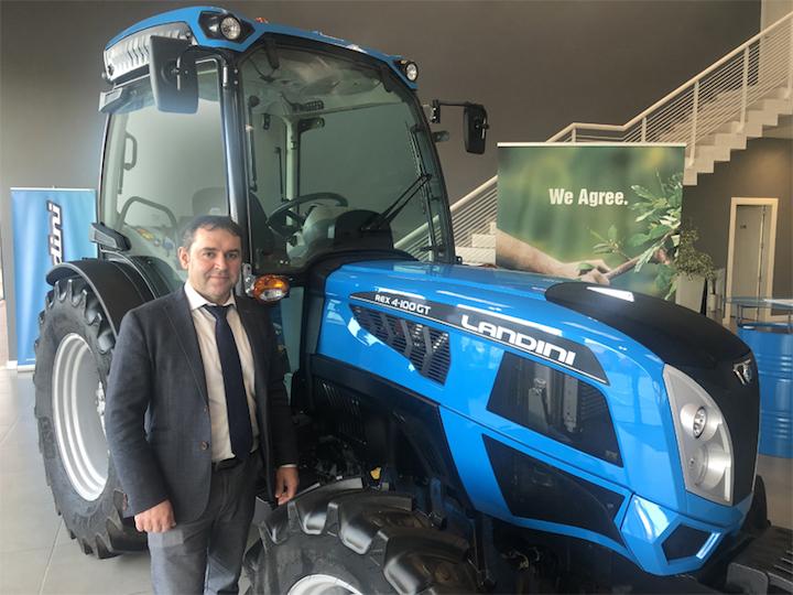 Andrés Moradas, direttore generale di Argo Tractors Ibérica