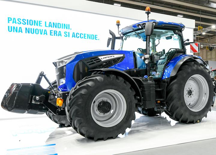 Landini 7-230 con motore Stage V a Fieragricola 2020