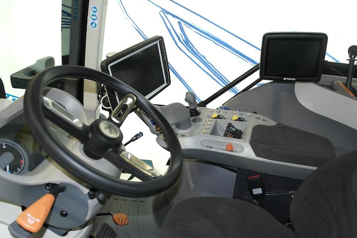 Landini nuova Serie 7 - cabina