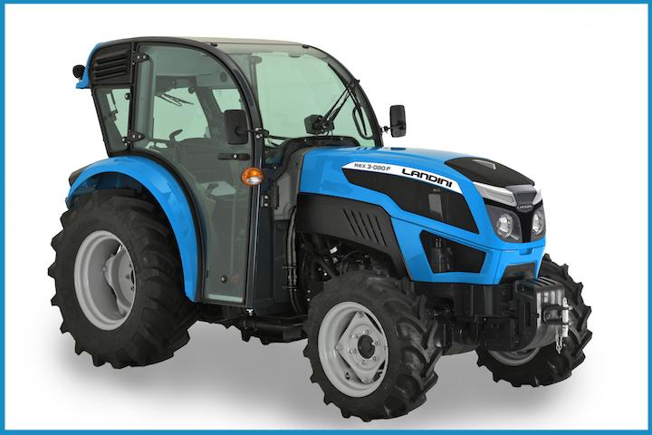 Cabina Low Profile della Serie Landini Rex 3 F
