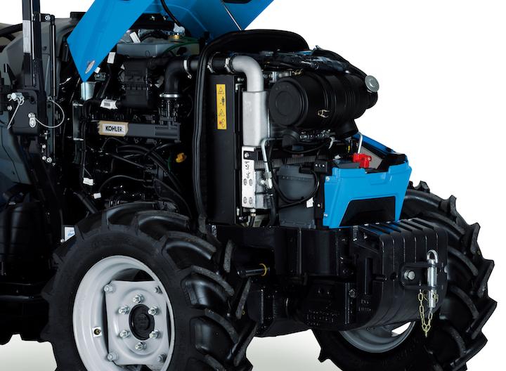 Motore Kohler Stage V dei Landini Rex 3 F