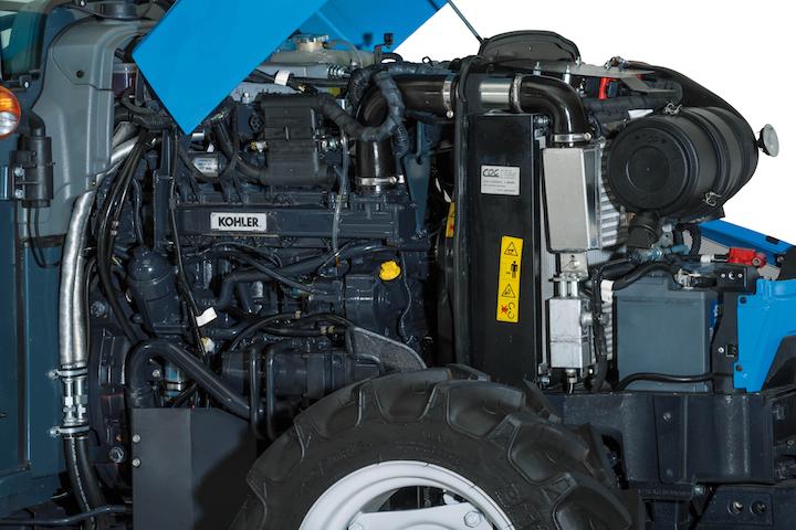 Motori Kohler sui Landini Rex 3 F