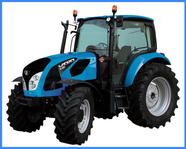 Nuovo modello Landini 5-120