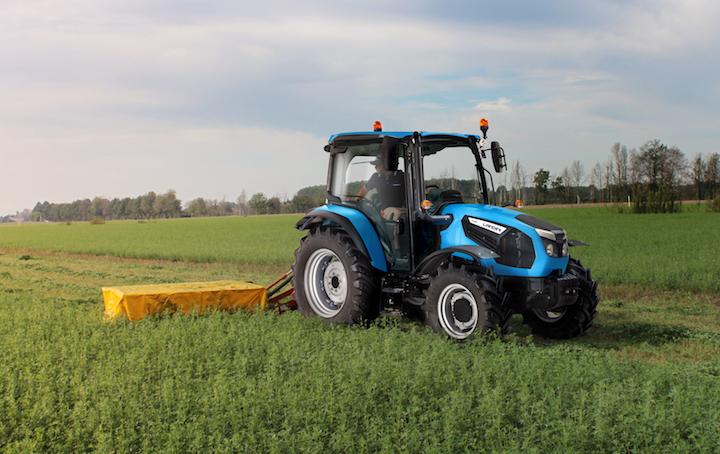 Landini 4-080, perfetto per il taglio dell'erba
