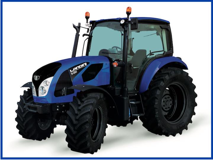Landini 5-120 nella nuova versione Blue Icon