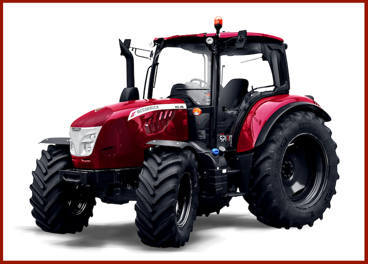 McCormick X6.45 in allestimento Red Spirit
