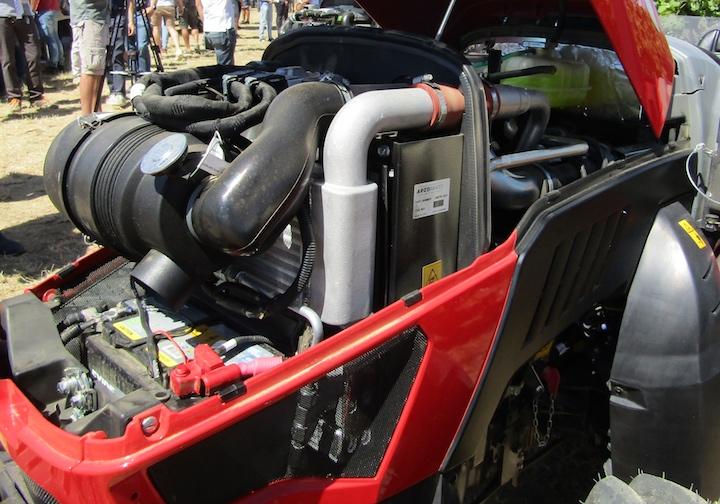 MotoreKohler Stage V sul Valpadana 3080 F ad Enovitis in campo 2021