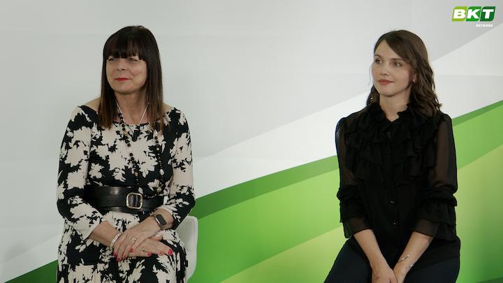 Lucia Salmaso eJennifer Rauch, rispettivamente ceo edigital marketing specialist di Bkt Europe