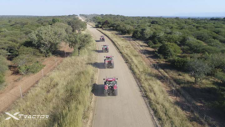 Quattro giganti rossi per le strade del Sudafrica