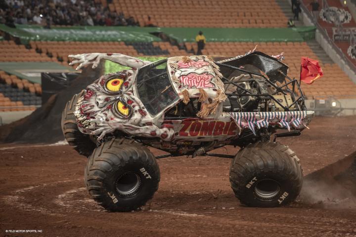 Uno dei Monster Truck che si è esibito a Johannesburg