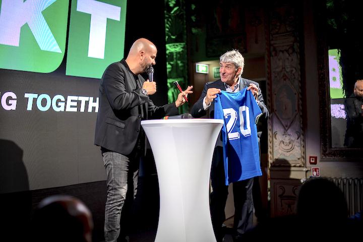 Rosario Pellecchia a sinistra e Paolo Rossi