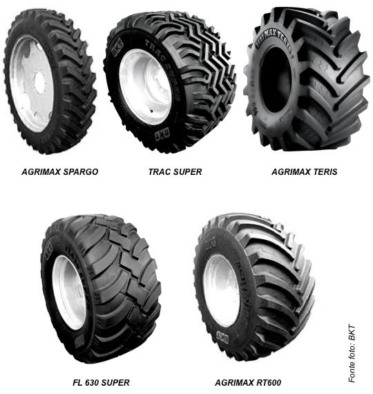 Pneumatici per macchine agricola BKT - novità SIMA 2013