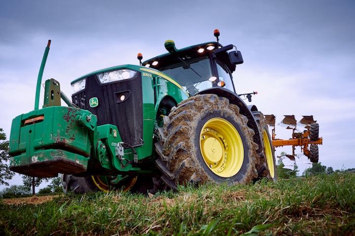 John Deere 8360 Rcon pneumatici BKTAgrimax Forcetra i trattori dell'azienda Crocetta