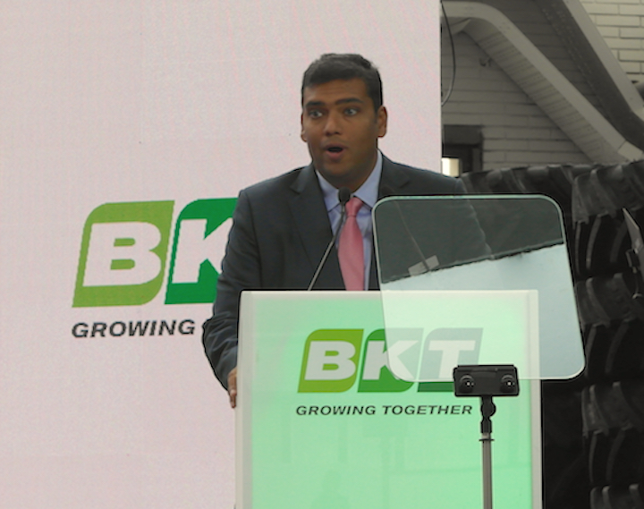 Rajiv Poddar, joint managing director BKT