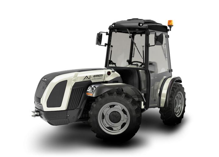 Nuovo BCS AI-Tractor con intelligenza artificiale
