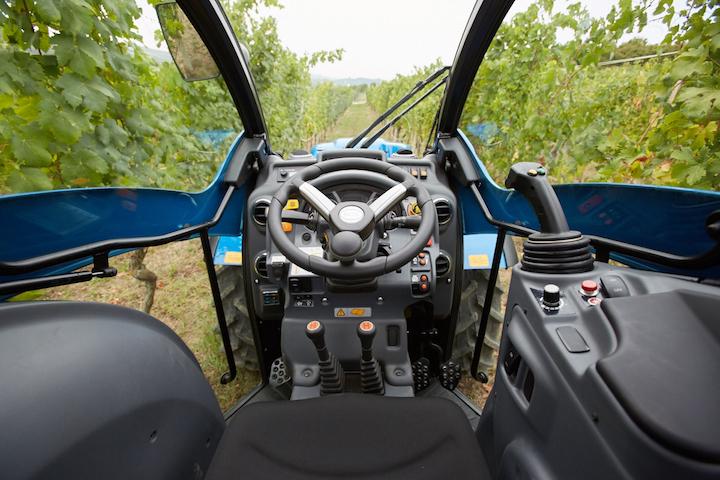 Interno della cabina BCS Compact Airtech