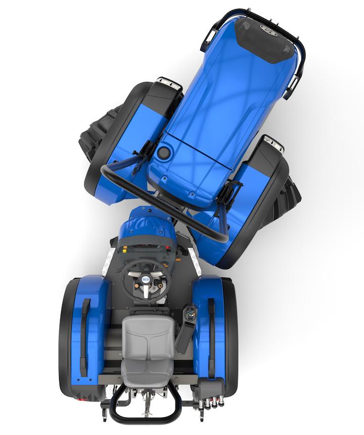 I BCS Spirit 70 con sistemaDualsteer® si muovono senza problemi in spazi ristretti